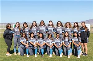 GRHS softball team photo